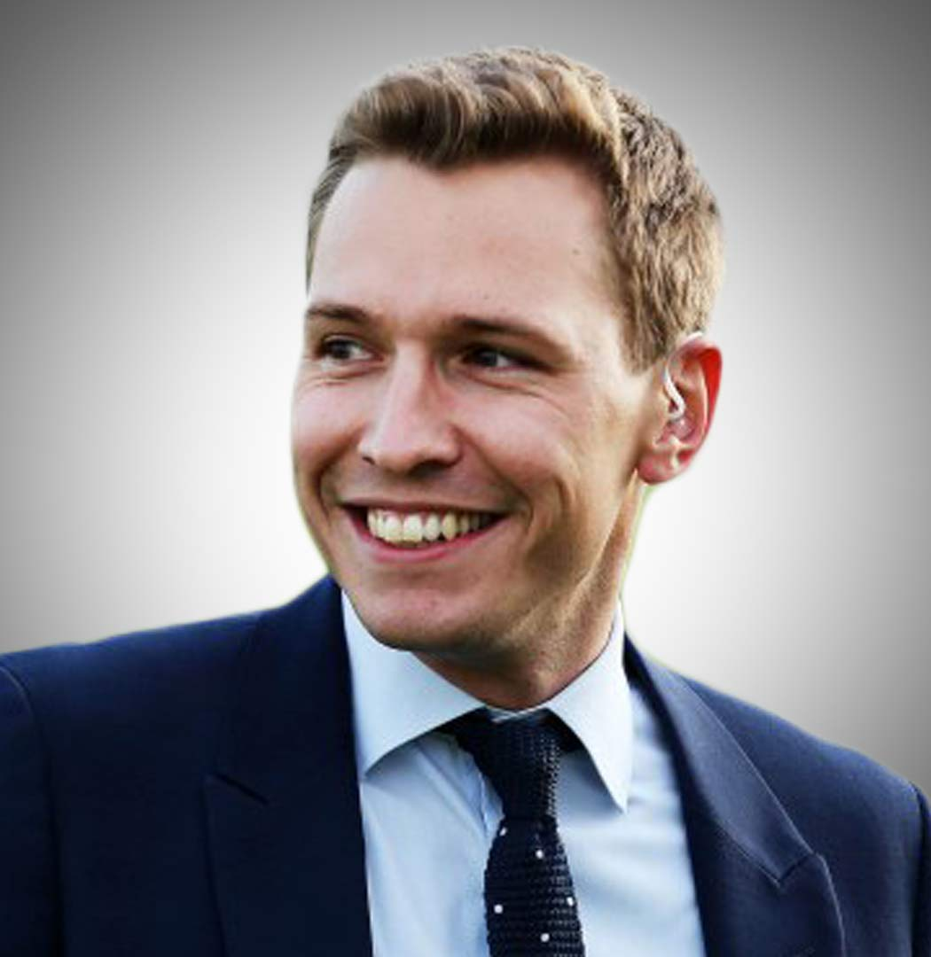 ITV Racing and The Opening Show Presenter Oli Bell