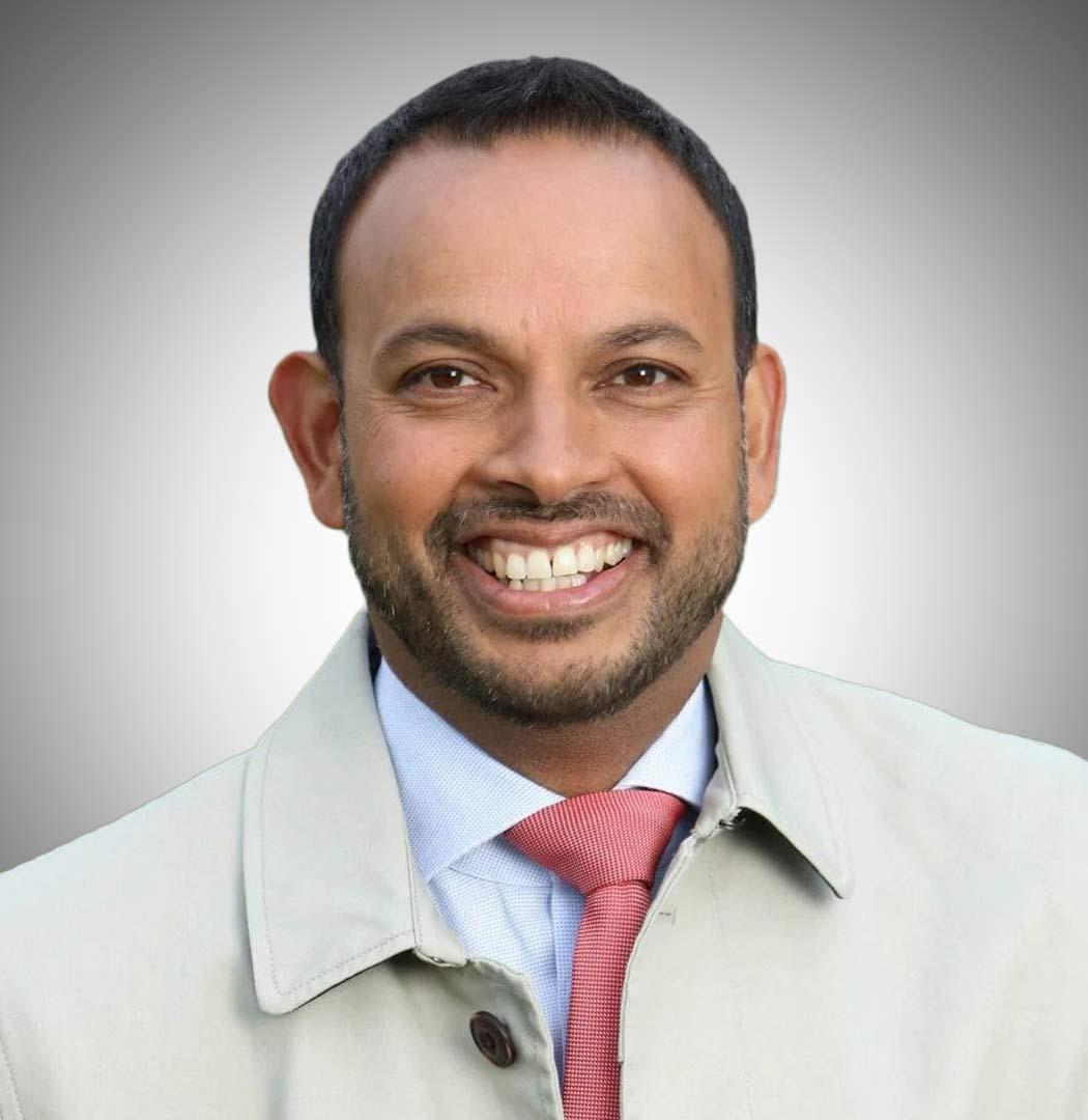 ITV Racing Presenter Rishi Persad