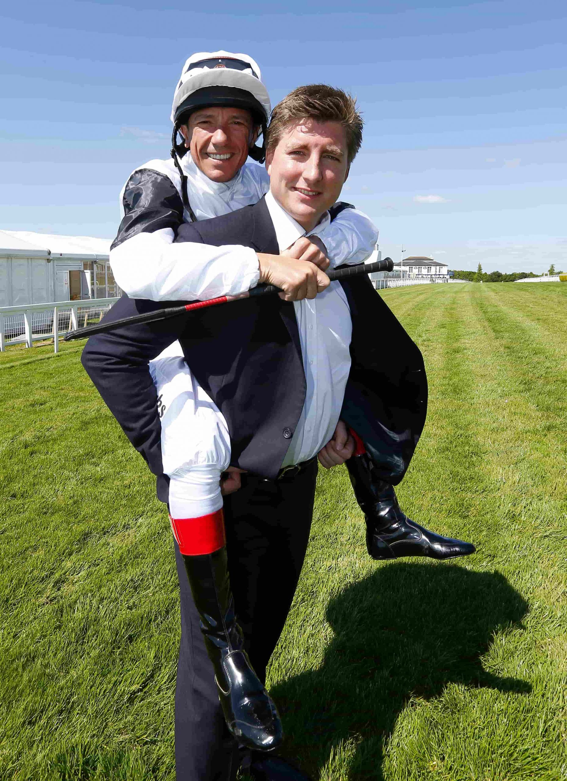 Ross and Frankie Dettori